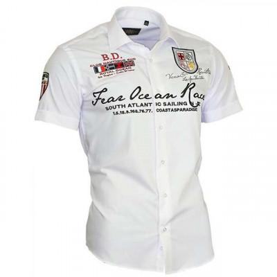BINDER DE LUXE košile pánská 80605 krátký rukáv