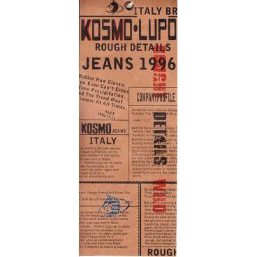 KOSMO LUPO kalhoty pánské KM050-1 jeans džíny