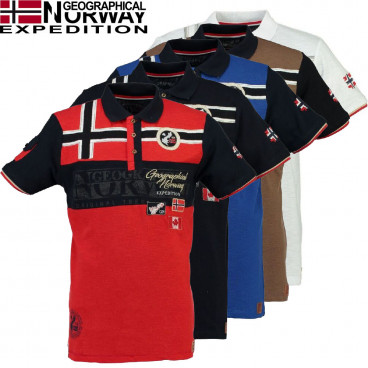 GEOGRAPHICAL NORWAY polokošile pánská KLIPO SS MEN 100