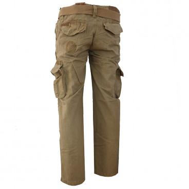 GEOGRAPHICAL NORWAY kalhoty pánské POUVOIR PANT MEN 063 kapsáče