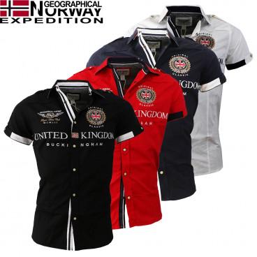 GEOGRAPHICAL NORWAY košile pánská ZUCCO SS MEN 14