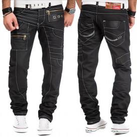 KOSMO LUPO kalhoty pánské KM012-1 jeans džíny