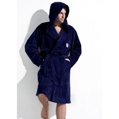 L&L župan pánský IWO s kapucí tm. modrý