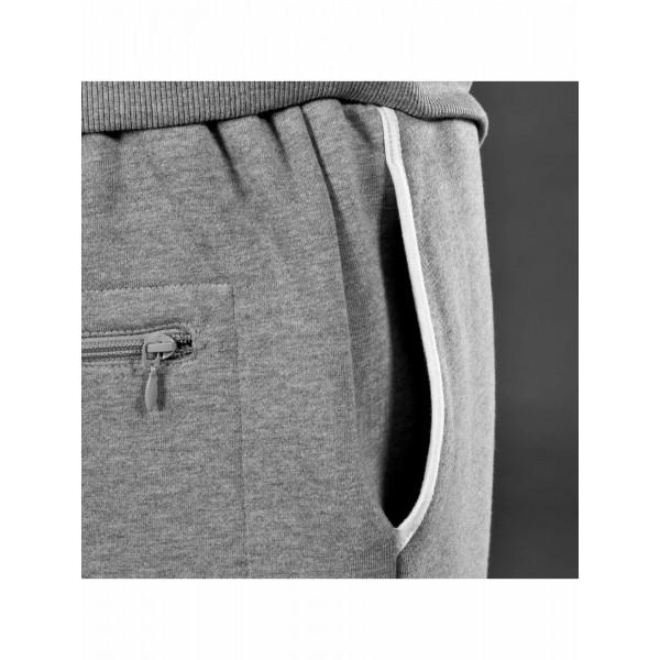 DANGEROUS DNGRS souprava pánská Suit Denim in grey tepláková hip hop
