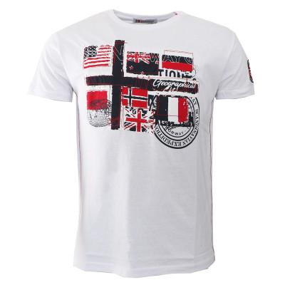 GEOGRAPHICAL NORWAY tričko pánské JOFLAG SS MEN 100