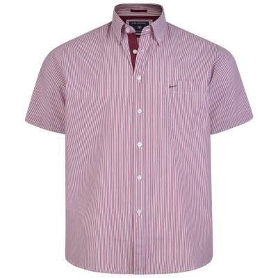 KAM košile pánská KBS 6164 krátký rukáv nadměrná velikost
