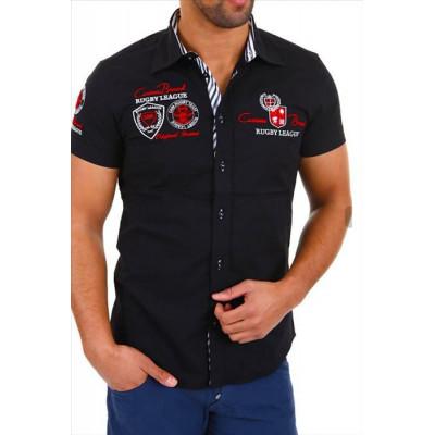 CARISMA košile pánská 9002 krátký rukáv slim fit d93a4116e9