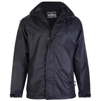 KAM bunda pánská Waterproof Rain KVSKV 01 nadměrná velikost větrovka