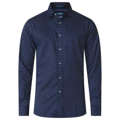 D555 košile pánská RASHARD nadměrná velikost 100% bavlna