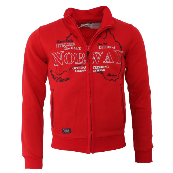 GEOGRAPHICAL NORWAY mikina pánská GEBEL MEN 100