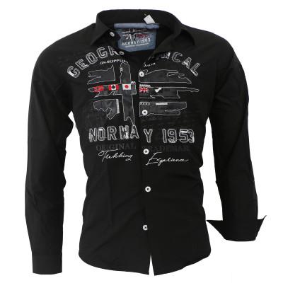 GEOGRAPHICAL NORWAY košile pánská ZOLDUC LS MEN 100