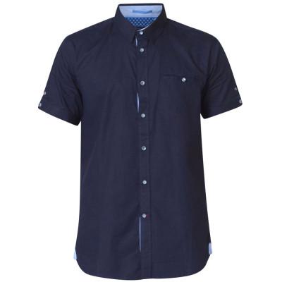 D555 košile pánská TIM nadměrná velikost krátký rukáv