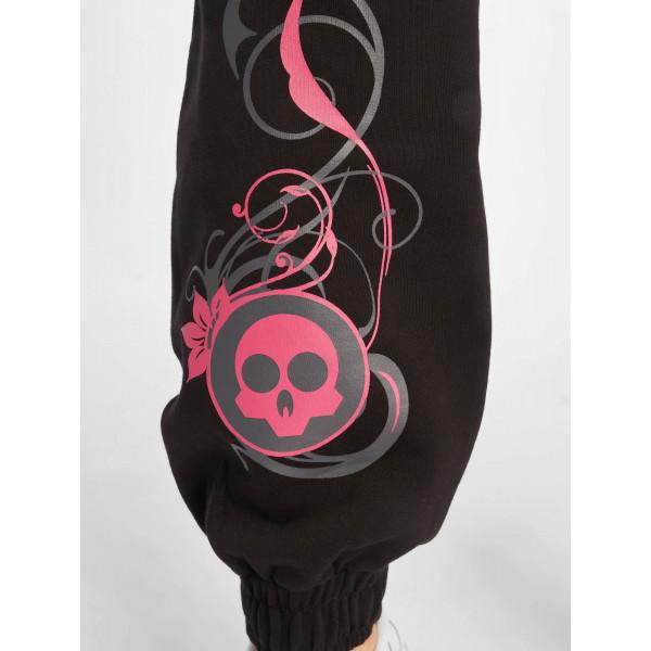 Dangerous DNGRS / Sweat Pant Skull in black