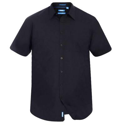D555 košile pánská AERON nadměrná velikost krátký rukáv