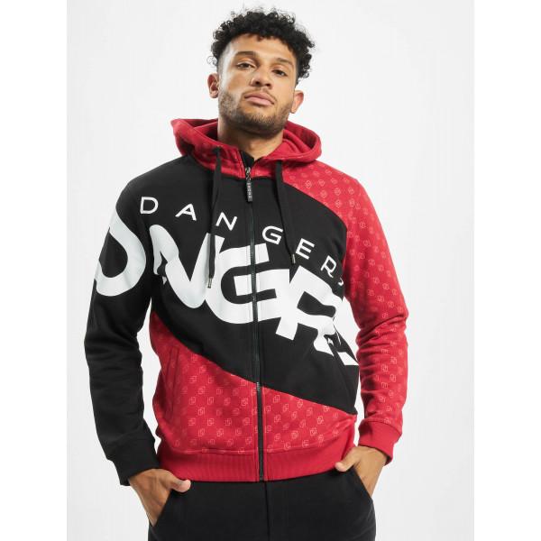 Dangerous DNGRS / Zip Hoodie Big Logo in black