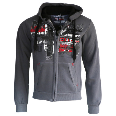 GEOGRAPHICAL NORWAY mikina pánská GETCHUP MEN 100