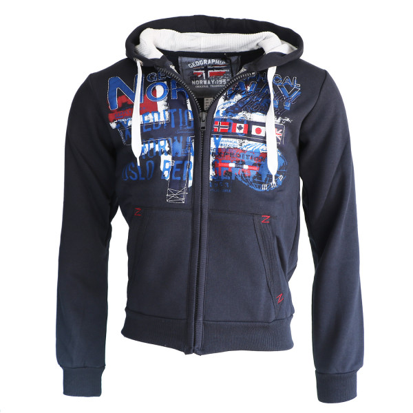 GEOGRAPHICAL NORWAY mikina pánská GETCHUP