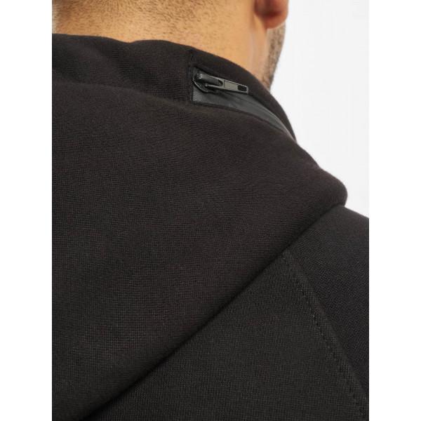 Dangerous DNGRS / Zip Hoodie Halil in black