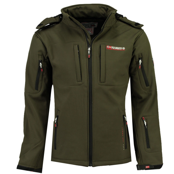 GEOGRAPHICAL NORWAY budna pánská TUNAR MEN 009 softshell