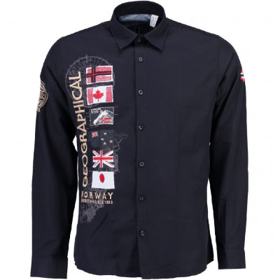 GEOGRAPHICAL NORWAY košile pánská ZERABATI LS MEN 100