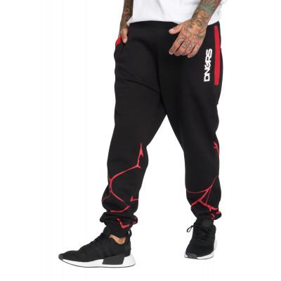 Dangerous DNGRS / Sweat Pant Comb in black