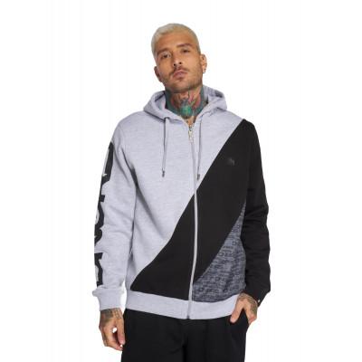 Dangerous DNGRS / Zip Hoodie Vela in grey