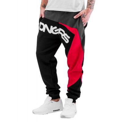 Dangerous DNGRS kalhoty pánské Sweat Pant Race City in black