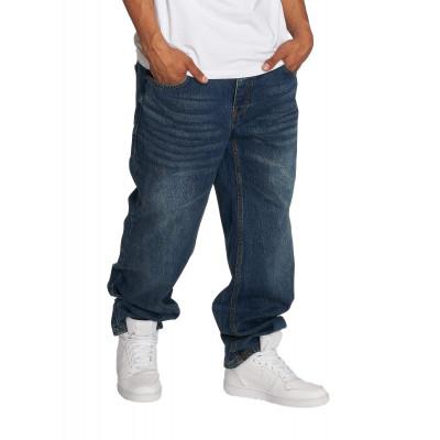 Ecko Unltd. kalhoty pánské Loose Fit Jeans Hang in blue