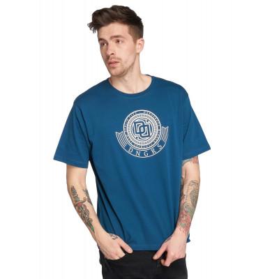 Dangerous DNGRS / T-Shirt Signed in blue