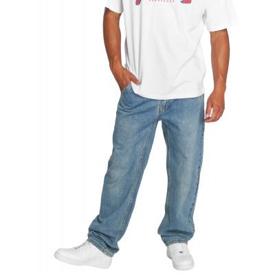 Dangerous DNGRS kalhoty pánské Loose Fit Jeans Brother in blue