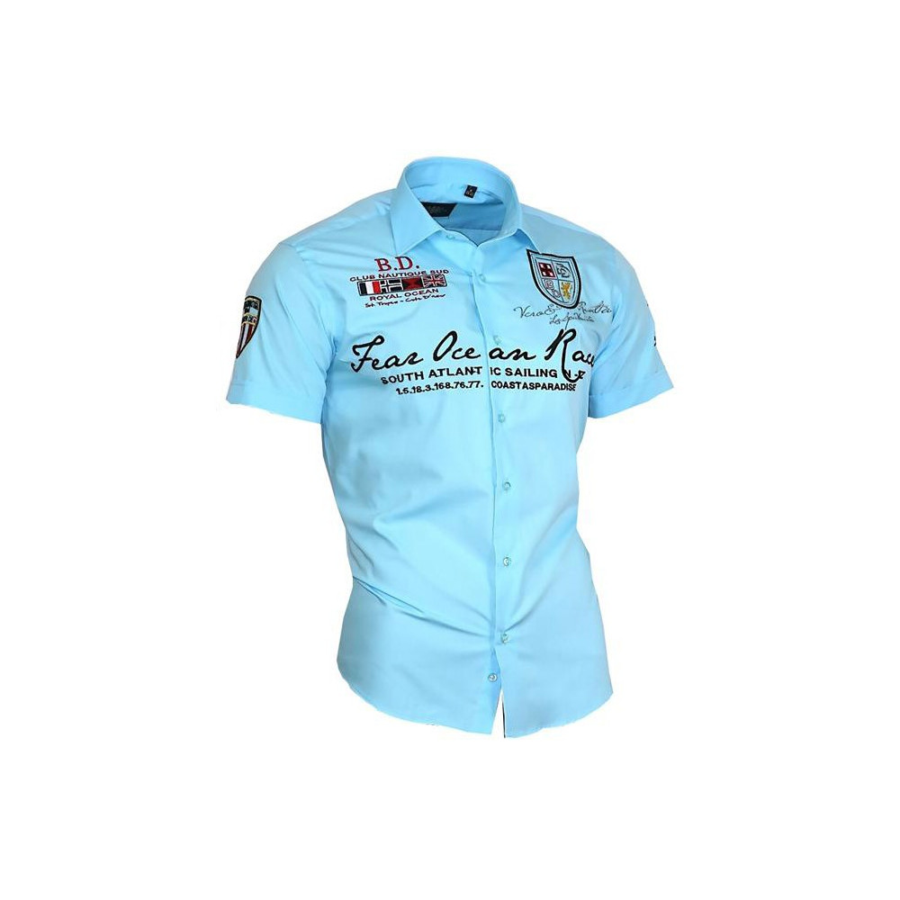 79c8bff4f32 BINDER DE LUXE košile pánská 80603 krátký rukáv - DG-SHOP.CZ