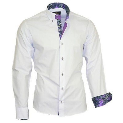 BINDER DE LUXE košile pánská 86006 dlouhý rukáv Paisley