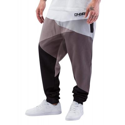 Dangerous DNGRS kalhoty pánské Sweat Pant Locotay Race City in grey