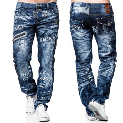 KOSMO LUPO kalhoty pánské KM051 jeans džíny