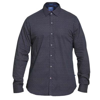 D555 košile pánská BABWORTH nadměrná velikost 100 bavlna