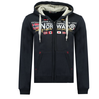 GEOGRAPHICAL NORWAY mikina pánská GALIATOR MEN 100