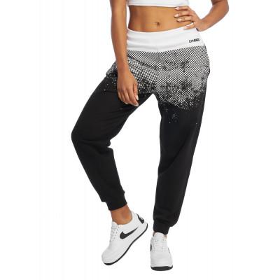Dangerous DNGRS kalhoty dámské Sweat Pant Fawn in black tepláky