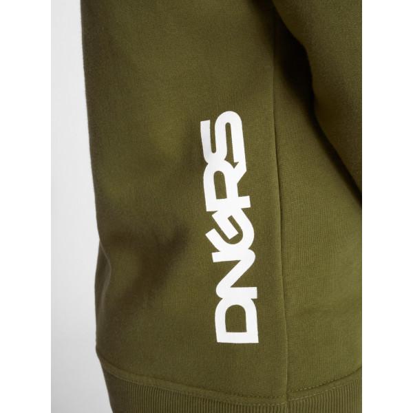 Dangerous DNGRS / Hoodie Perth in olive