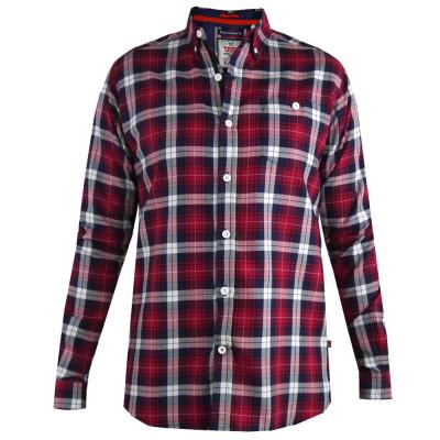 D555 košile pánská BALTIMORE 100% bavlna nadměrná velikost