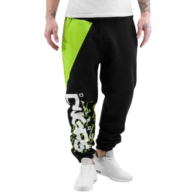 Dangerous DNGRS kalhoty pánské Sweat Pant Santiago in black