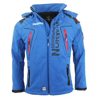 GEOGRAPHICAL NORWAY bunda pánská TECHNO softshell