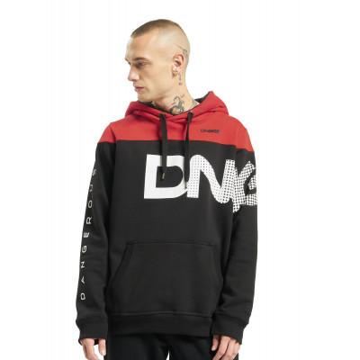 Dangerous DNGRS / Hoodie Gino in black