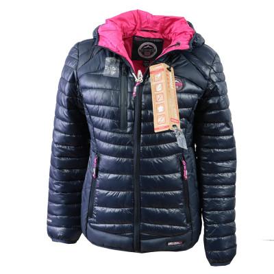 GEOGRAPHICAL NORWAY bunda dámská BAMBY LADY prošívaná s kapucí