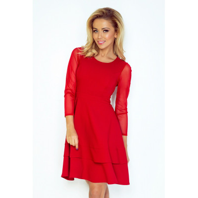 NUMOCO šaty dámské 141-2 tukávy z tylu