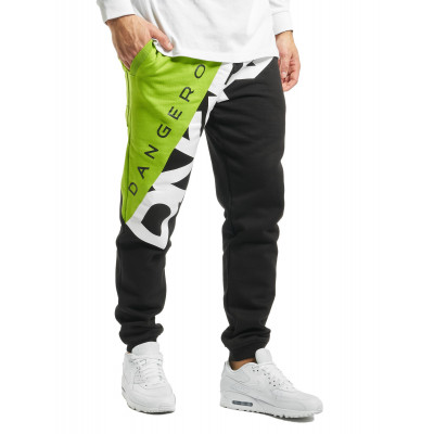 Dangerous DNGRS kalhoty pánské Sweat Pant Pivot in black