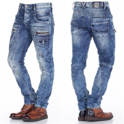 CIPO & BAXX kalhoty pánské C-1178 slim fit L:32