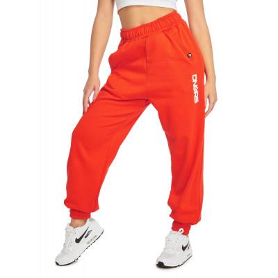 Dangerous DNGRS / Sweat Pant Leila in red