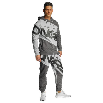 Dangerous DNGRS Toco Suit Grey/Black
