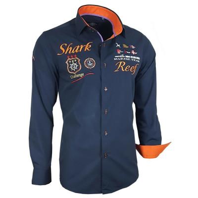 BINDER DE LUXE košile pánská 81304 dlouhý rukáv