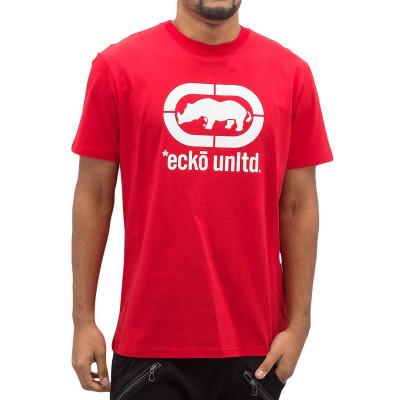 Ecko Unltd. tričko pánské John Rhino T-Shirt Red nadměrná velikost